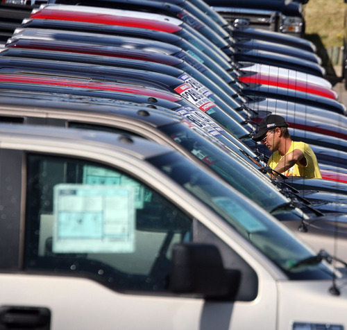 David Zalubowski Ap File Photo Fords Recall Includes More Than  Trucks And Crossovers To