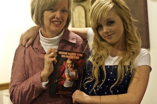 Chris Detrick | The Salt Lake Tribune  Savanna Peterson and Jill Ammon Vanderwood wrote the book,