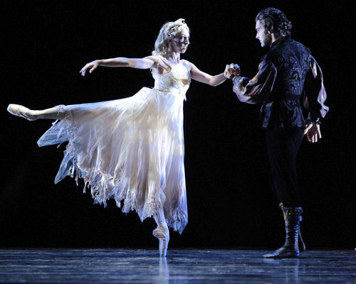 Ballet West's Beau Pearson and Jacqueline Straughan in Ben Stevenson's