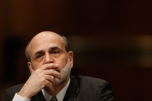 File  |  The Associated Press After initially saying it was unlikely the economy would be damaged by problems in the subprime market, Fed Chairman Ben Bernanke later conceded that the Fed's lack of aggressiveness in regulating mortgage lendind was a