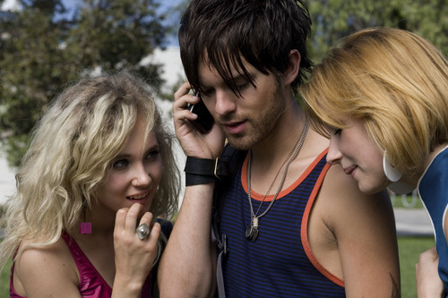 Juno Temple, left, plays London, Thomas Dekker plays Smith and Haley Bennett is Stella in Gregg Araki's sex comedy