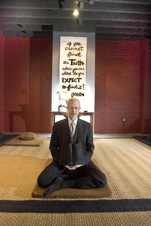 Paul Fraughton  |  The Salt Lake Tribune  Michael Zimmerman, the former chief justice of the Utah Supreme Court, has opened Boulder Mountain Zendo. This is the second Zen center that he and his wife, Diane Hamilton, have opened in Utah.