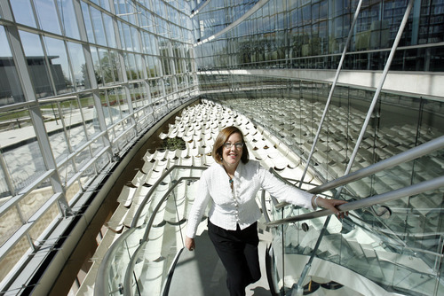 Beth Elder, director of the Salt Lake City Public Library, shown in 2008, says the changes at the Main Library and the five branches will take effect Jan. 10. Steve Griffin | Tribune file photo