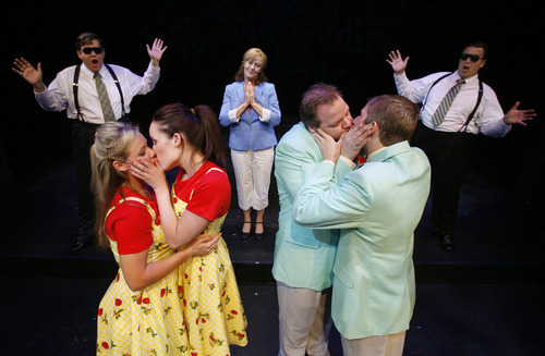 Francisco Kjolseth  |  The Salt Lake Tribune     A scene from Salt Lake Acting Company