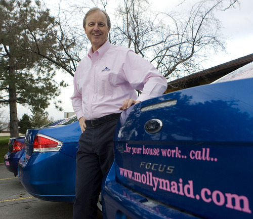 Al Hartmann  |  The Salt Lake Tribune  Alan Green has had a varied business career, from managing companies' marketing operations to owning a one-hour photo back in the days before digital cameras. Now, at age 59, he has bought a Molly Maid franchise in the valley, revitalizing the business and his employees.