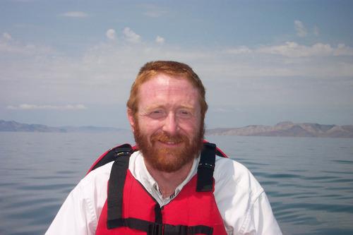 Tribune file photo Jeff Salt, Great Salt Lakekeeper, is shown canoeing on the Great Salt Lake in 2003.
