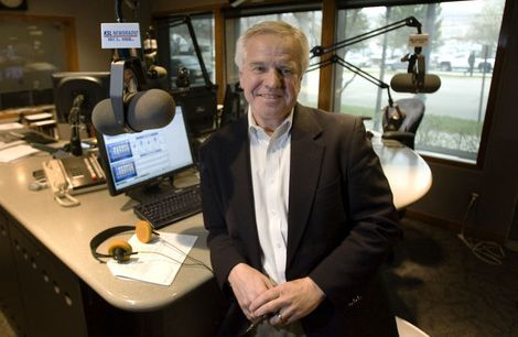 Steve Griffin  |  The Salt Lake Tribune   KSL talk show host Doug Wright in the KSL studios in Salt Lake City on Monday, March 21, 2011.