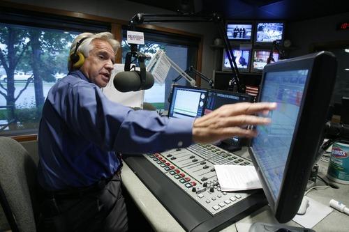 KSL Radio talk show host Doug Wright in 2008. Tribune file photo.