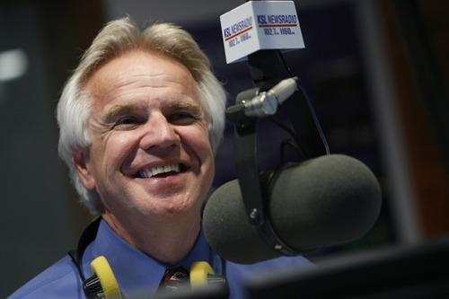 KSL Radio talk show host Doug Wright in 2008. Tribune file photo