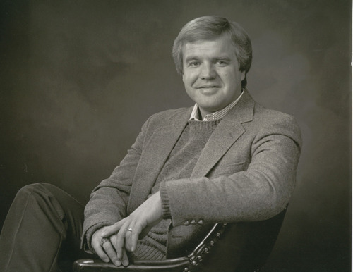 Doug Wright has been hosting a radio talk show on KSL for 30 years.