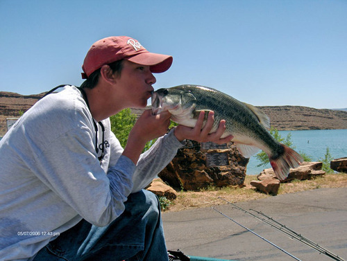 Father and son follow their dreams to become professional for Salt lake city fishing