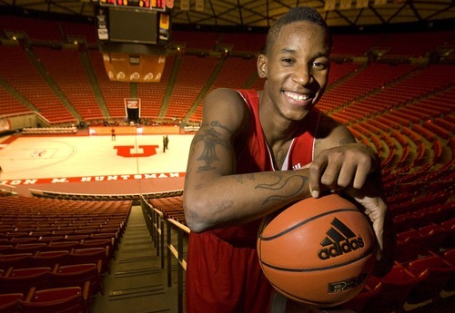 Paul Fraughton  |  The Salt Lake Tribune  Will Clyburn has had a big impact on the University of Utah men's basketball team early this season. He leads the Utes in both scoring and rebounding.