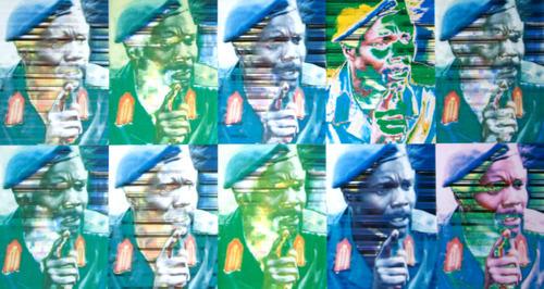 Joseph Kony, leader of The Lords Resistance Army, Uganda. Digital Image courtesy of Trent Alvey