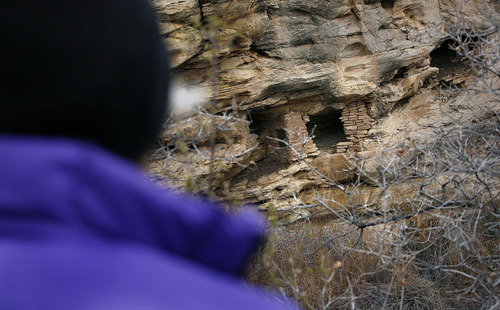 Scott Sommerdorf  |  The Salt Lake Tribune An Anasazi ruin near