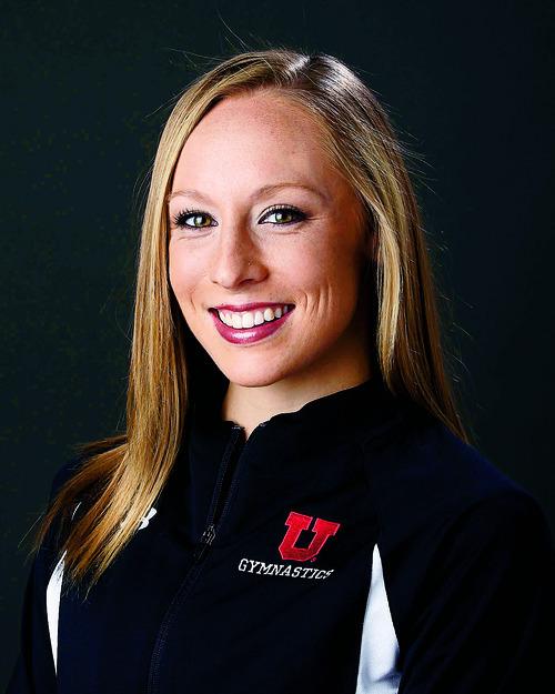 Jacquelyn Johnson, University of Utah Gymnastics September 18, 2010 in Salt Lake City.  (Photo/Steve C. Wilson)