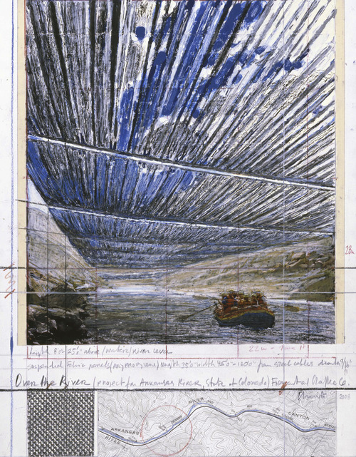 The environmental artist Christo hopes to begin work on his