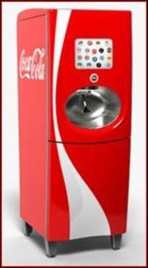 coca cola machine cost