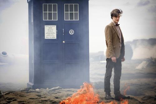 Matt Smith as The Doctor in