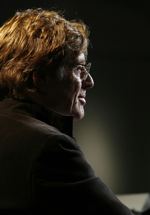 Robert Redford at the opening of the 2006 Sundance Film Festival. Tribune file photo