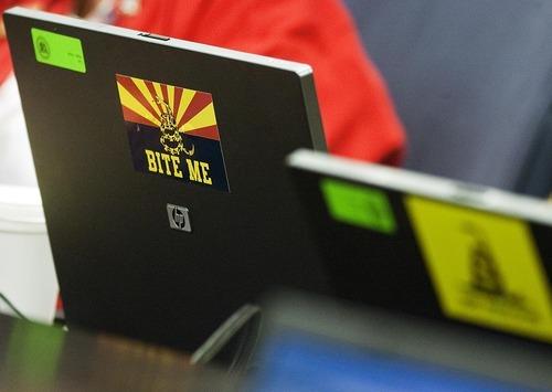 Djamila Grossman  |  The Salt Lake Tribune  A member of the Arizona Senate has a