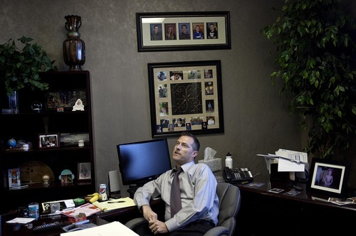 DJAMILA GROSSMAN  |  The Salt Lake Tribune Workers Compensation Attorney Chad Snow long predicted Arizona's tough immigration enforcement law would be bad for Arizona. He believes the warnings have come true and is part of an effort to recall Senate President Russell Pearce, a fellow Republican and Mormon.