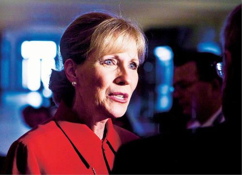 File Photo | The Salt Lake Tribune Cherilyn Eagar says she will run for the U.S. House. Eagar ran unsuccessfully for the U.S. Senate last year.