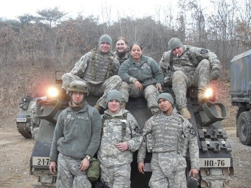 Army Spc. Joseph Bushling, standing center, has not been heard from since May 8. Bushling, 26, was assigned to Dugway Proving Ground. He was days away from starting training to be a nurse. Photo courtesy of Bushling family