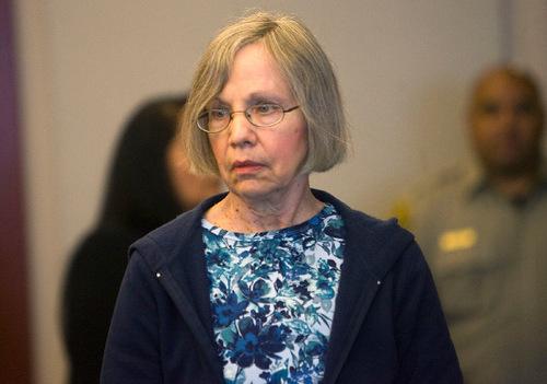 Al Hartmann  |  The Salt Lake Tribune   A somber Wanda Barzee enters Judge Judith Atherton's district court in Salt Lake City for sentencing.