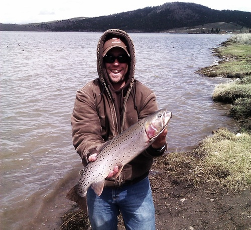 7 pound cutthroat caught and released at panguitch lake for Panguitch lake fishing report