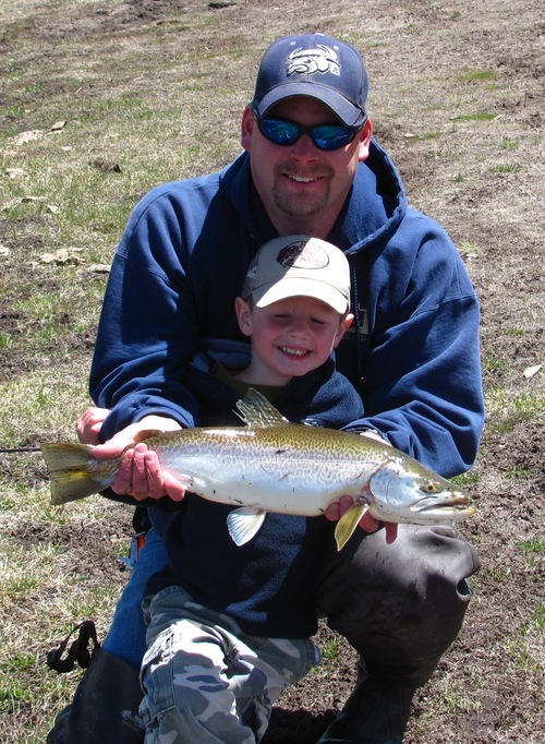 7 pound cutthroat caught and released at panguitch lake for Southern utah fishing report