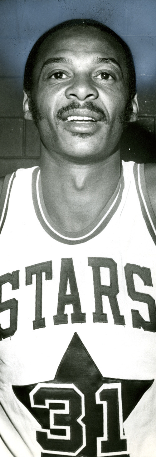 Utah Stars player Zelmo Beaty was part of the Stars 1971 ABA championship team.  Tribune archives