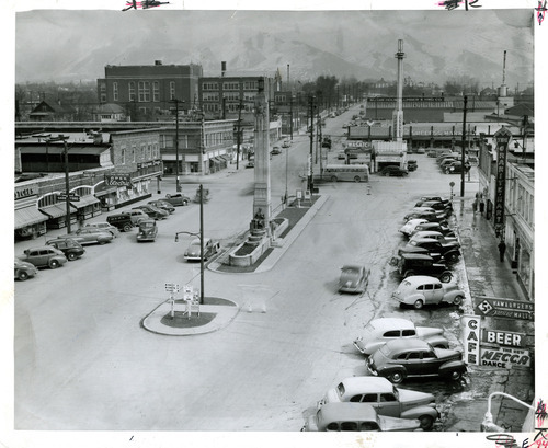 File photo | The Salt Lake Tribune  This undated photo shows a view of Sugar House at 2100 South and 1100 East.