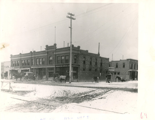 File photo | The Salt Lake Tribune  This undated photo shows the southwest corner of 1100 East and 2100 South in Sugar House. It is now the site of the so-called