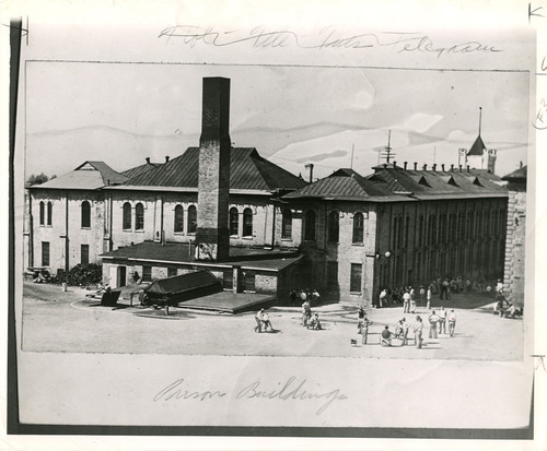 File photo | The Salt Lake Tribune  This is an undated image of the old Sugar House Prison. It is now the site of Sugar House Park and Highland High School.