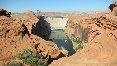 Tom Wharton  |  The Salt Lake Tribune Glen Canyon Dam.