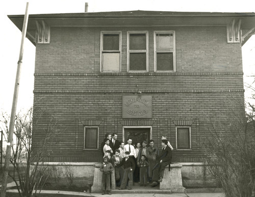 File photo   The Salt Lake Tribune   The Rotary-YMCA Boy's Club, as seen in 1938.
