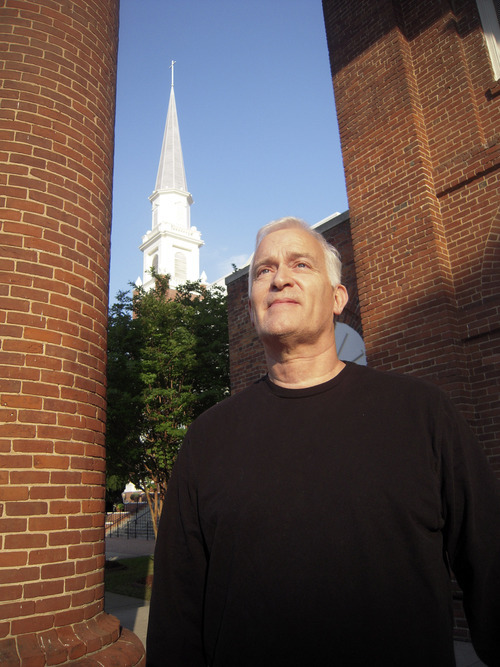 Thomas Burr  |  The Salt Lake Tribune Rex Rish, pictured outside the First Baptist Church of Columbia, says he's a devout Baptist but that doesn't mean he would rule out voting for a Mormon for president.