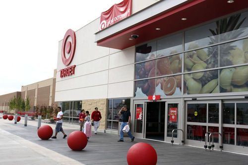 File photo by Leah Hogsten     The Salt Lake Tribune   This Target near downtown Salt Lake City opened in 2010. The Target slated to open next year in West Valley City is expected to be built with the same format.