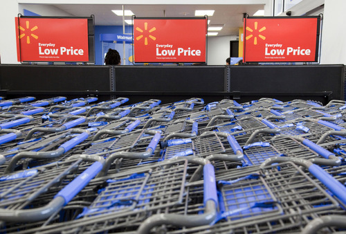 Associated Press file photo The double coupon promotion in Utah County helps Wal-Mart compete with Ridleys Family Markets, which was first to offer double coupons on Tuesdays in Utah County.