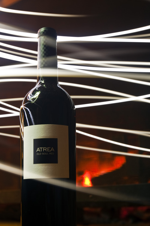 Chris Detrick | The Salt Lake Tribune  A bottle of Atrea Old Soul Red at Saracina Ranch Winery and Vineyards in Hopland, Calif.