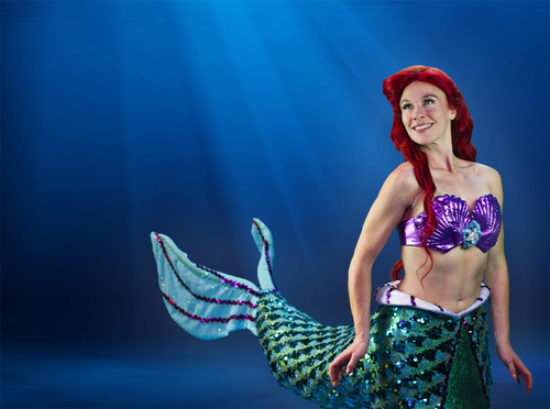 Michelle Pruiett stars as Ariel in the Tuacahn Amphitheatre production of