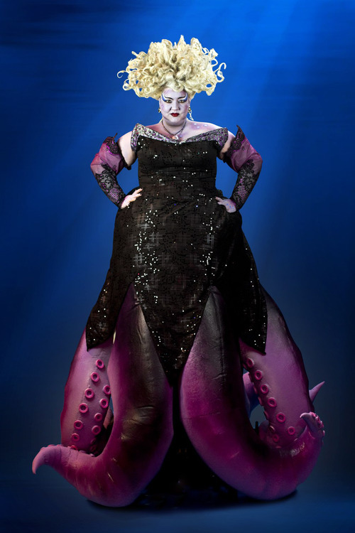 Heidi Anderson stars as Ursula the seawitch in the Tuacahn Amphitheatre production of