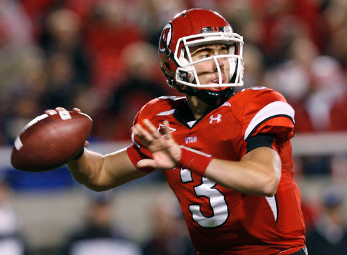 File photo     The Salt Lake Tribune Jordan Wynn and the Utes will face the Colorado Buffaloes, not BYU, at the end of the regular season.