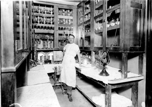 Photo courtesy Marriott Library A member of the Hotel Utah kitchen staff in 1911. Thursday is Hotel Utah's 100th anniversary.