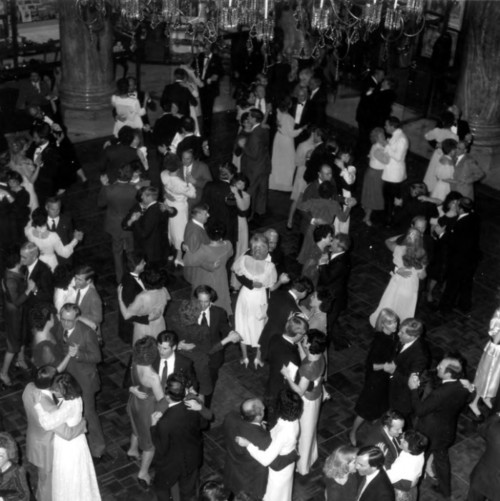 Photo courtesy Marriott Library The 1984 Governor's Ball for Gov. Scott Matheson at the Hotel Utah. Thursday is Hotel Utah's 100th anniversary.
