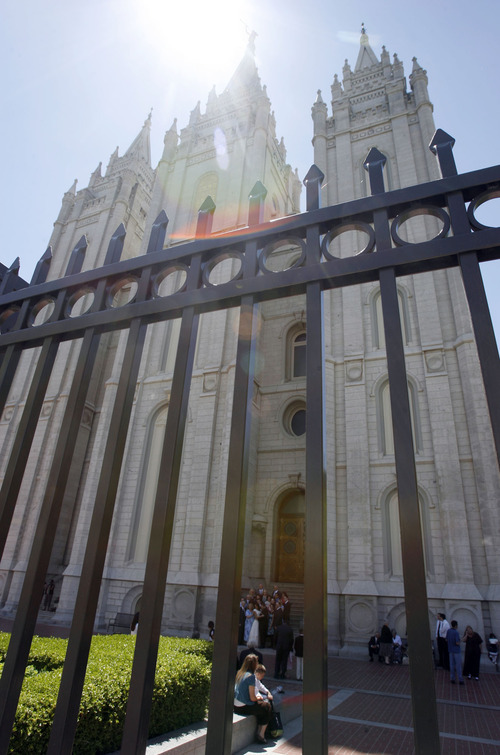 Mormon Temple Weddings Leave Some Family On Outside Hurting Inside