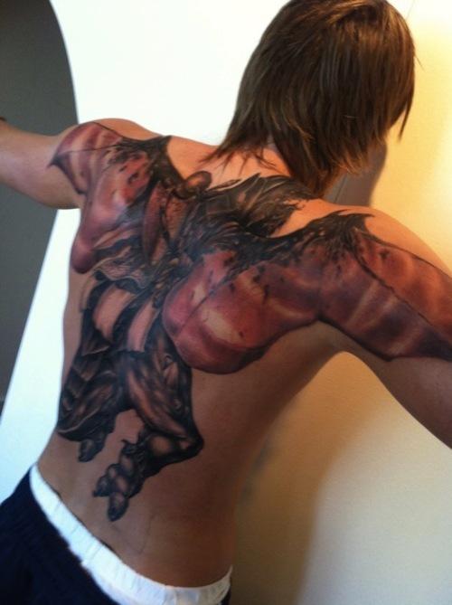Andrei Kirilenko's tattoo.