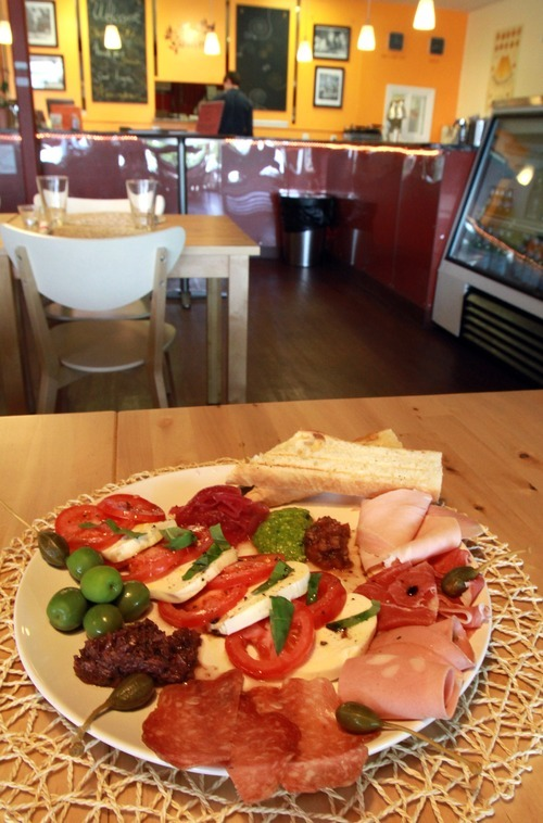 Rick Egan   |  The Salt Lake Tribune Piatto di antipasti at the Cucina Vanina in Cottonwood Heights.