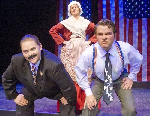 Paul Fraughton for In This Week  A scene from Salt Lake Acting Company's 2011 production of