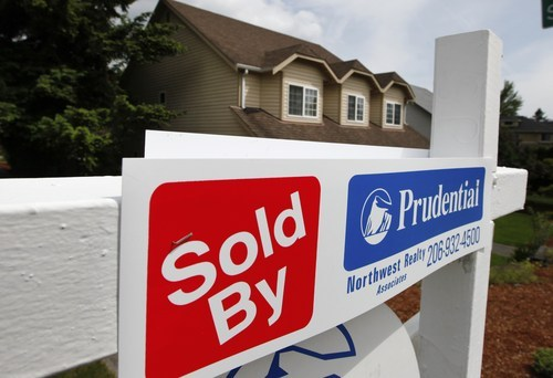 (AP Photo/Elaine Thompson, file) The index covers metro areas that together make up about 50 percent of U.S. households. It measures sale prices of select homes in those cities, compared with prices in January 2000. It then provides a three-month average. The April data is the latest available.